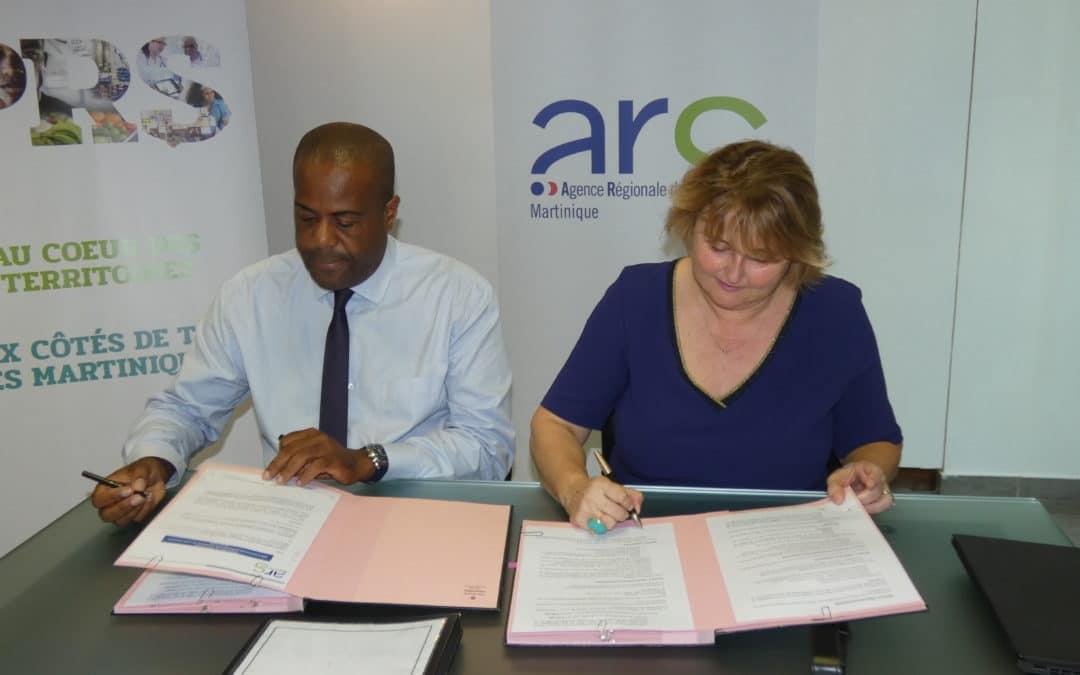 Signature convention de financement avec l'ARS